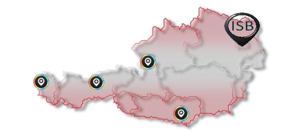 Oesterreich-Map